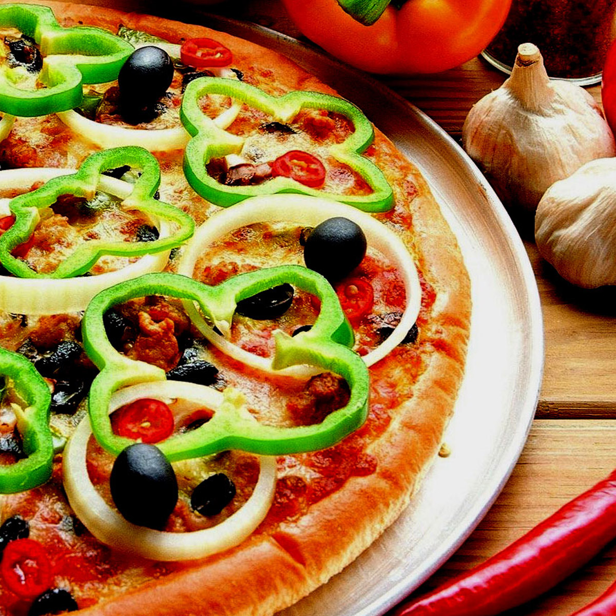 Mini Pizzas @ Rs.100